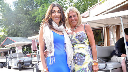 Carlene Gnazzo and Roz Neiman.