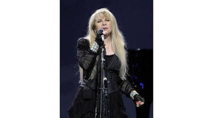 Stevie Nicks sings at Consol Energy Center as part of the Heart & Soul Tour with Rod Stewart on Saturday.