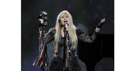 Stevie Nicks performs at Consol Energy Center as part of the Heart & Soul Tour with Rod Stewart on Saturday.