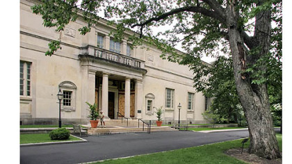The original Barnes Foundation building in the Philadelphia suburb of Merion.