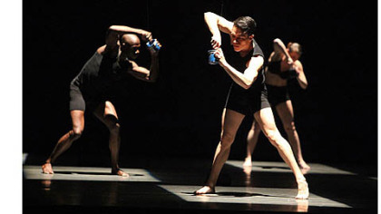 "Giordano Dance Chicago in ""JOLT.""  The company will perform at Byham Theater, Downtown, as part of the World Jazz Dance Festival, a component of the annual Jazz Dance World Congress."