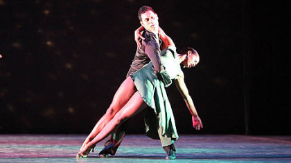 "Giordano Dance Chicago in ""Sabroso.""  The company will perform at Byham Theater, Downtown, as part of the World Jazz Dance Festival, a component of the annual Jazz Dance World Congress."