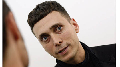 Artist and fashion designer Hedi Slimane.