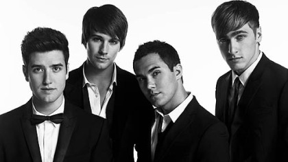 Members of Big Time Rush and stars of the Nickelodeon series of the same name -- Logan Henderson, left, James Maslow, Carlos Pena and Kendall Schmidt -- are on their second national concert tour.