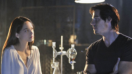 "Kristin Kreuk is Catherine and Jay Ryan is Vincent in The CW's reboot of ""Beauty and the Beast."""