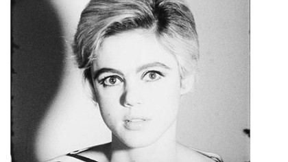 Still from screen test by Edie Sedgwick in 1965.