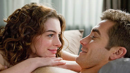 "Anne Hathaway, above with Jake Gyllenhaal, filmed ""Love & Other Drugs"" in Pittsburgh in 2009."