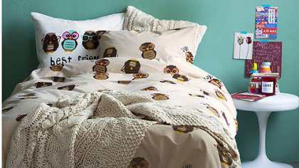 H&M's Home line, including bedding, is headed to the United States.