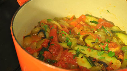 Julia Child's Ratatouille.