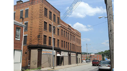 The warehouse that the McKeesport Candy Co. has occupied since 1927.