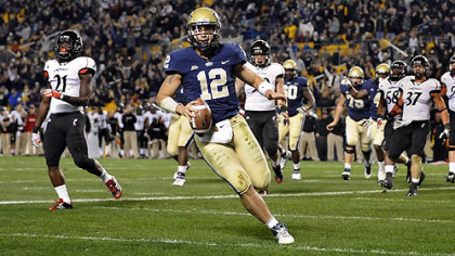 Despite two years as the starting quarterback, there was no guarantee that Tino Sunseri would be Pitt's starting signal caller when camp opened this month.