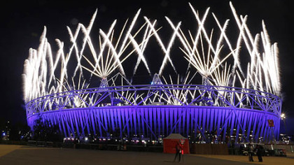 Closing Ceremony  of the London 2012 Olympic Games at Olympic Stadium in London, England.