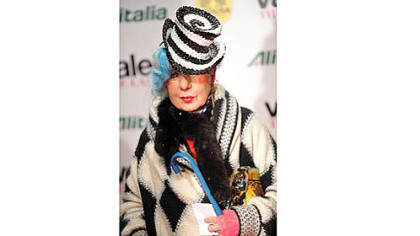 Famed fashion writer Anna Piaggi died last week at her home in Milan.  She was 81.