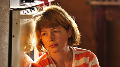 "Michelle Williams portrays an unhappy wife in ""Take This Waltz."""