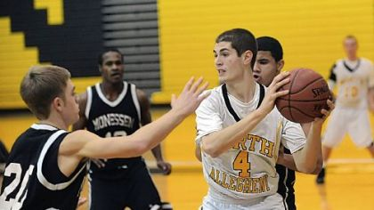 Former North Allegheny basketball standout Anthony Dallier committed to Yale last Thursday.