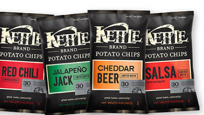 Kettle Brand's 30th Birthday limited edition flavor collection.