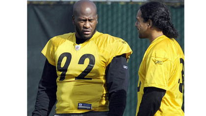 It&#039;s quite possible that James Harrison will not be in the lineup when the season opens Sept. 9 in Denver.