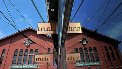 The former Cafe Allegro on the South Side is now home to Truth, a lounge/wine bar/restaurant.