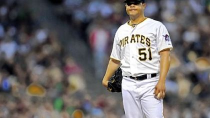 Wandy Rodriguez is 0-3 in four starts since the Pirates acquired him from Houston.